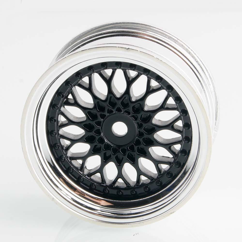 2083 Plating Wheel Rim Offset 3mm 4P RC HSP HPI For 1//10 On-Road Drift Car