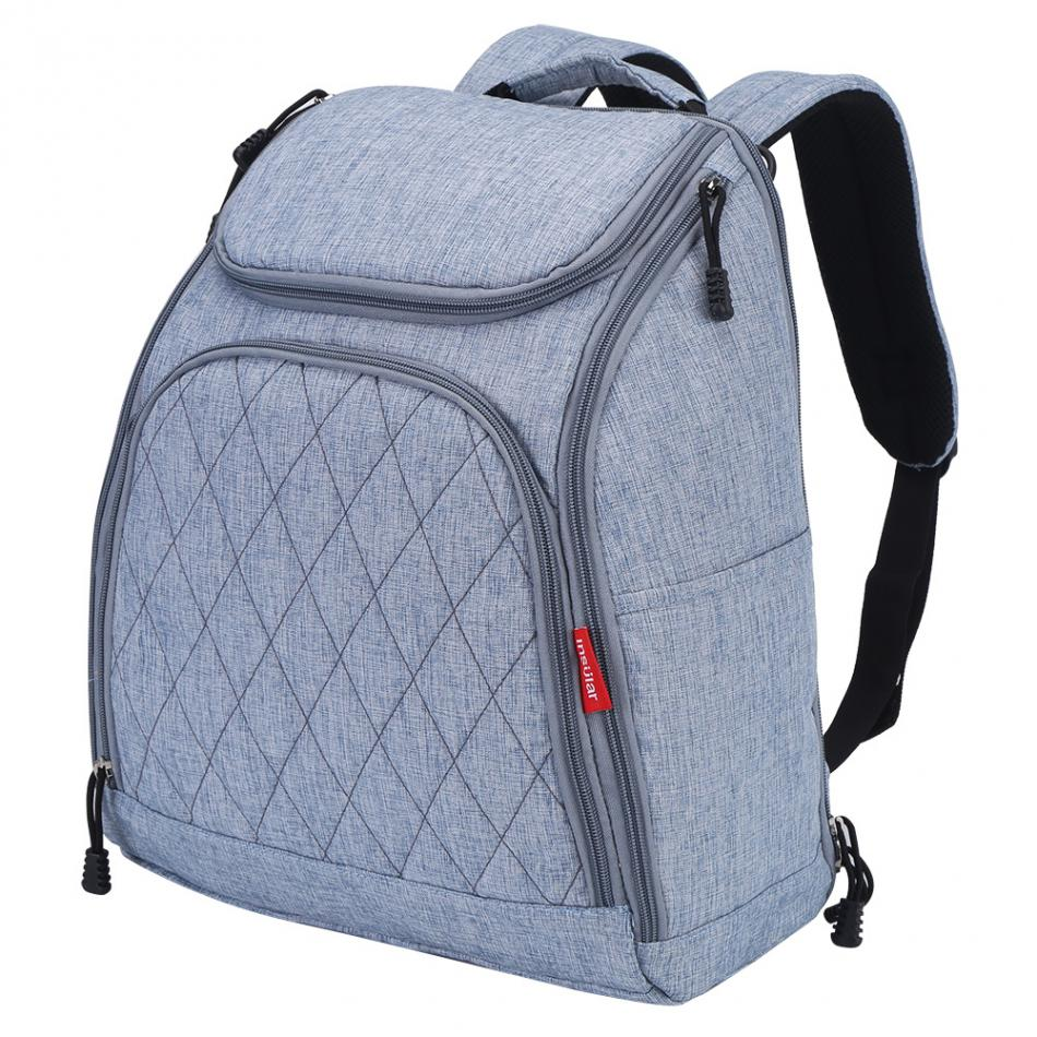 Bolsa de pañales de bebé de moda mamá bolsa de pañales de - Pañales y entrenamiento para ir al baño - foto 4