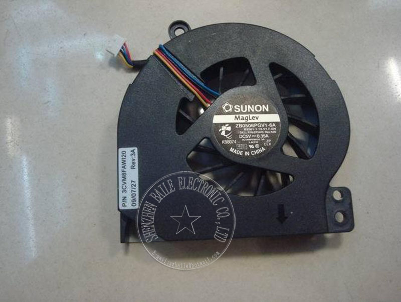 New 1014 cooling fan for DELL VOSTRO 1014 1015 1018 1088 PP38L CPU fan, 100% original 1014 1015 laptop cpu cooling fan cooler cpu laptop cooling fan for fujitsu siemens amilo d1840 d1840w d1845 bi sonic bp541305h cooling fan dv 5v 0 36a round fan