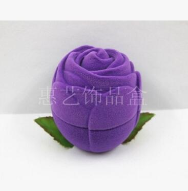100pcs/lot fedex fast free shipping red pink purple rose jewelry box necklace earring ring rose display case