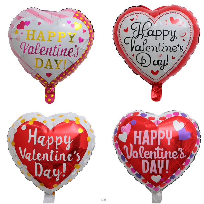 Detail Feedback Questions About 50pcs Lot 18 Inch Happy Valentine S
