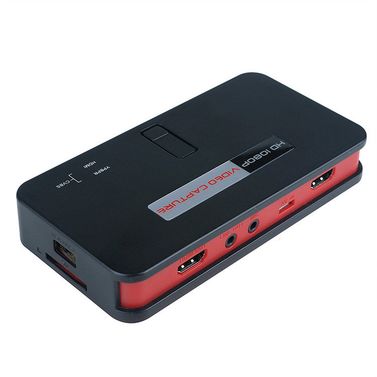 AGEAR EZCAP284 1080P HD Video Game Capture HDMI Recorder Card HDMI AV Ypbpr TV Video Recorder