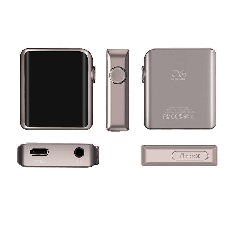 SHANLING M0 ES9218P 32bit/384 кГц Bluetooth AptX LDAC DSD MP3 FALC Портативный музыкальный плеер hi-res-аудио