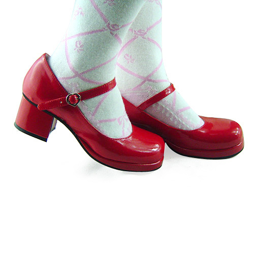 ФОТО Princess sweet lolita gothic lolita shoes custom  lolita brief round toe snap button small leather 9142  high platform