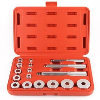 17 шт., инструменты для автомобиля, съёмник рулевого колеса, инструмент для удаления автомобиля, колесо, подшипник, устройство для демонтажа, ...