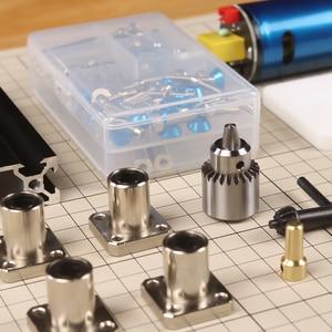 Image 4 - Soporte de módulo láser eje Z y eje Motor Z, Kits de eje Z, conjunto integrado de piezas de taladro, Kit de actualización DIY para grabador láser CNC Router
