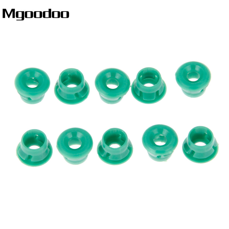 Mgoodoo 50Pcs Side Sill Skirts Moulding Grommet Clips Fit For BMW E30 E32 E36 E46 E60 E61 E63 Fixings