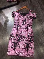 Новинка 2018 Высокое качество модные платье для подиума летние платья Для женщин бренда Элитная одежда Женская одежда