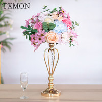 Wedding props simulation road lead main table floral table decoration T Taiwan hotel window photography wedding table flower