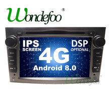 4G Android 8,0/Android 8,1 2 DIN DVD gps для Vauxhall Opel Astra H G J Vectra Антара Zafira Corsa ВИВАРО Meriva Veda мультимедиа(China)