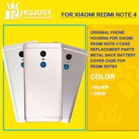 Original Phone Housing For Xiaomi Redmi Note 4 Case Replacement Parts Metal Back Battery Cover Case