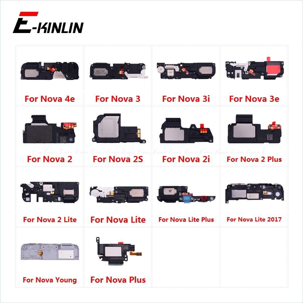 Loudspeaker For HuaWei Nova 4e 3 3i 3e 2 2S 2i 2 Plus Lite 2017 Young Loud Speaker Buzzer Ringer Flex Replacement Parts