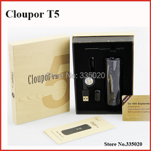 Original Cloupor T5 50W Mechanical Mod with OLED Screen for 18650 Rechargeable Battery Mod kit