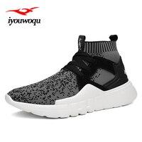 Klasik Serin siyah Marka Tasarım erkekler eğilim Çorap sneakers erkekler için ayakkabı koşu ayakkabı Açık Spor Spor atletik ayakkabı 7032