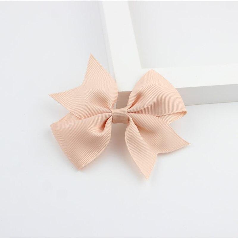 Новые модные маленькие заколки для волос для маленьких девочек, милые заколки для волос карамельного цвета с цветком, детские заколки, аксессуары для волос - Цвет: a11 Shell Pink