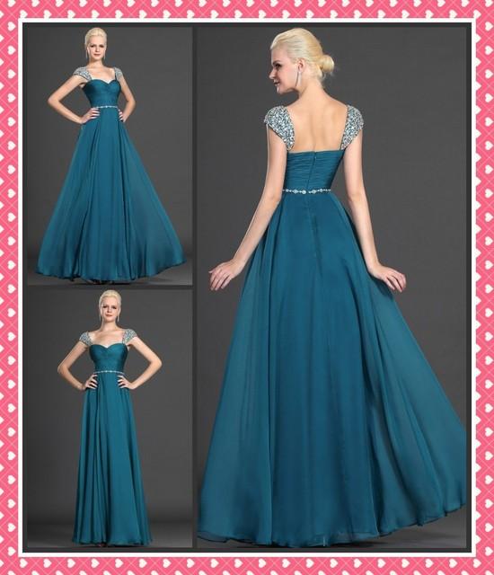 Emerald Blue Dresses