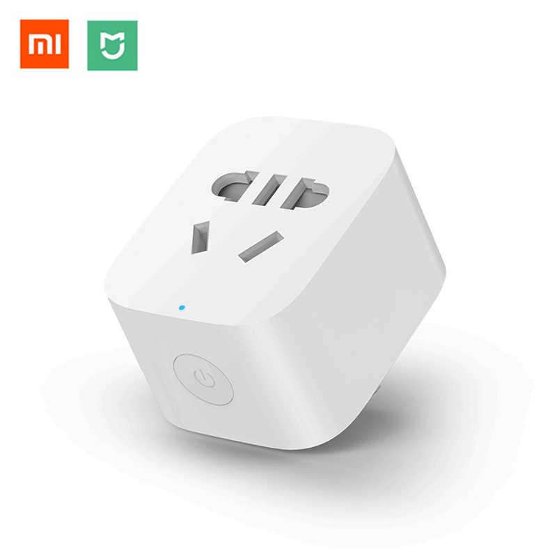 Original Xiaomi Mijia Smart Socket Plug Smart Home WIFI Wireless Switch Remote Adaptor Work With Xiaomi Multifunctional Gateway