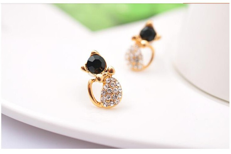 Cat Stud Earrings 6