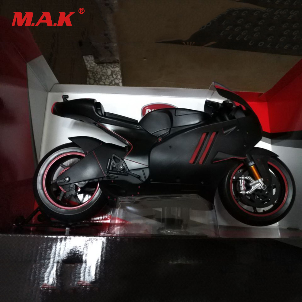 Limited Edition Ducati 1:6 Scale Metal Diecast Autobike Model Black & Red Sports Boy Toy Model Motorcycle Motorbike Racing Cars when tamiya model motorcycle ducati ducati 1199 1 12 panigle s 14129 model buiding kits