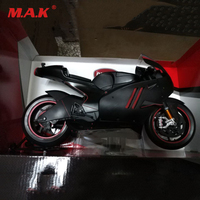 Limited Edition Ducati 1:6 Scale Metal Diecast Autobike Model Black & Red Sports Boy Toy Model Motorcycle Motorbike Racing Cars