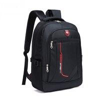 2018 новый мужской многофункциональный, вместительный школьный рюкзак для студентов, повседневный школьный рюкзак, модная мужская дорожная ...