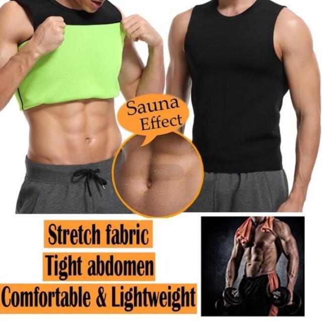 f04b69bc82 Neoprene Slimming Sauna Vest Belly Slimming Control Body Shaper Abdomen  Tummy Fat Burning Shaperwear Anti Cellulite Sweat Corset