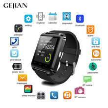 GEJIAN Bluetooth Smart Watch Message Notification Waterproof Smart Bracelet Android Smartphone IOS Watch Pedometer Remote Camera(China)