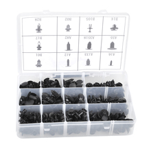 CITALL 240pcs/set Plastic Fender Bumper Panel Retainer Fastener Rivets Pin Clip Trim Assortment Kit for Ford VW Renault Chrysler
