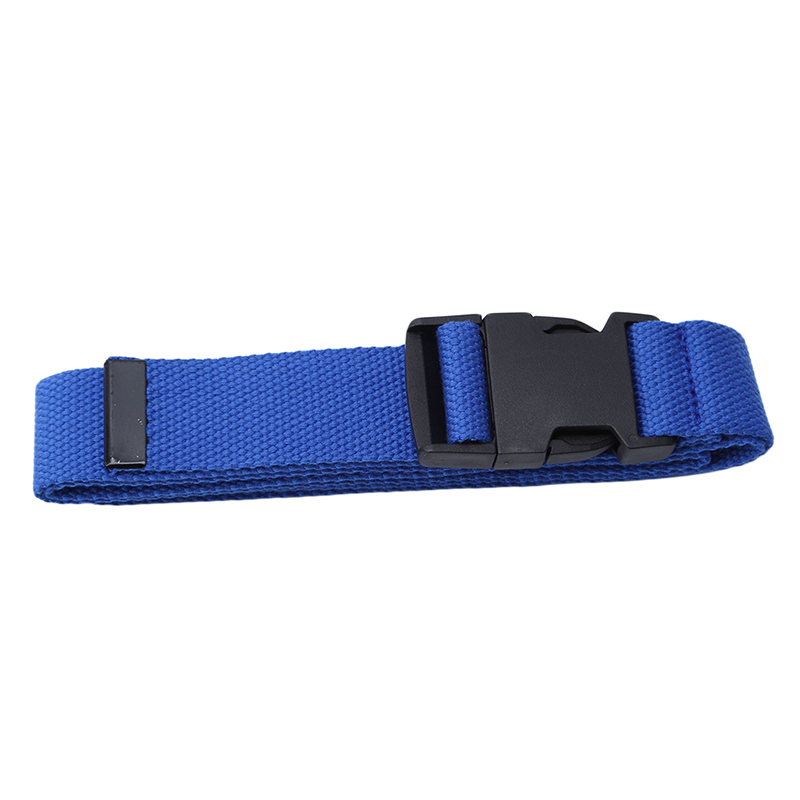 116 см Регулируемый универсальный ремень для девочек и мальчиков унисекс корейский стиль холщовые ремни Harajuku Пряжка сплошной цвет длинный ремень cinturon mujer - Цвет: blue