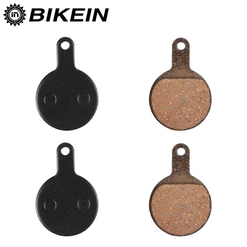 BIKEIN 2 Pairs Cycling Mountain Bike Hydraulic Disc Brake Pads For Tektro IOX Bicycle Resin Disc Brake Pad MTB Bikes Parts