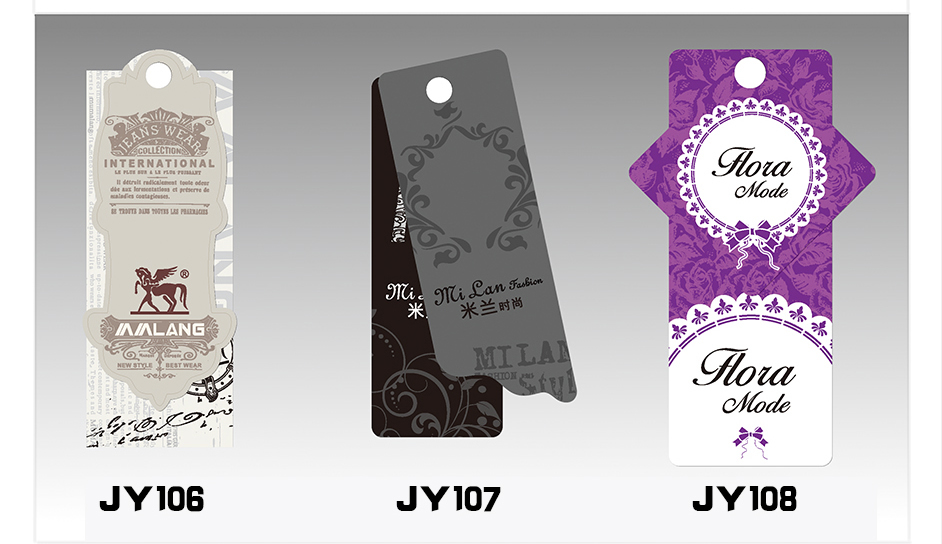 Popular Clothing Hangtags-Buy Cheap Clothing Hangtags lots from ...