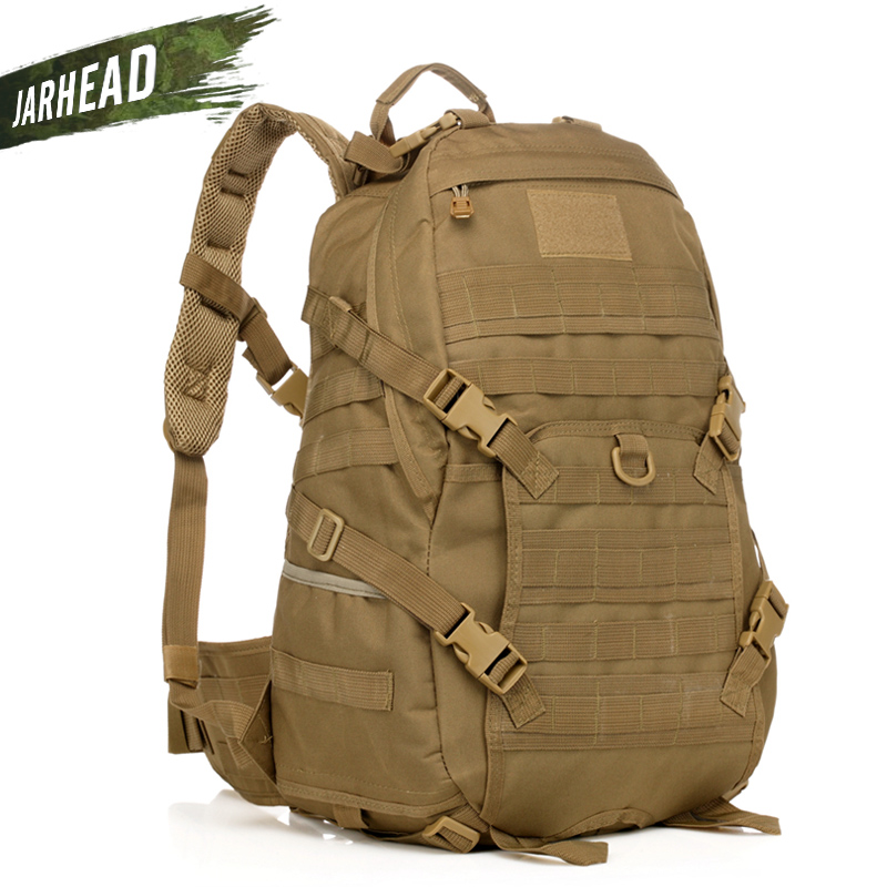 2018 Men Outdoor Military Army Tactical Backpack Trekking Sport Travel Rucksacks Camping Hiking Hunting Camouflage Knapsack