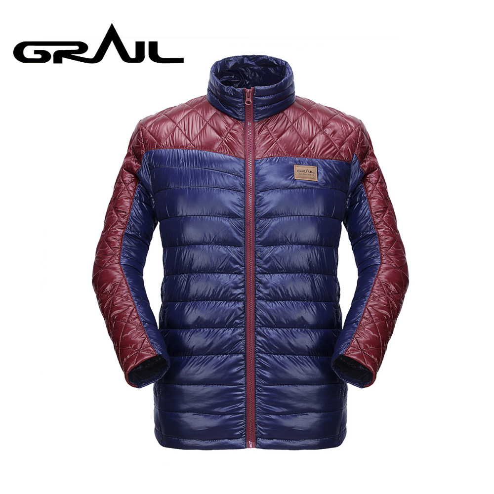 где купить  GRAIL Men Outdoor Thermal Cotton Padding Jacket Warm Poly Filled Coat for Skiing Snowboarding Camping Hiking 6023A  по лучшей цене