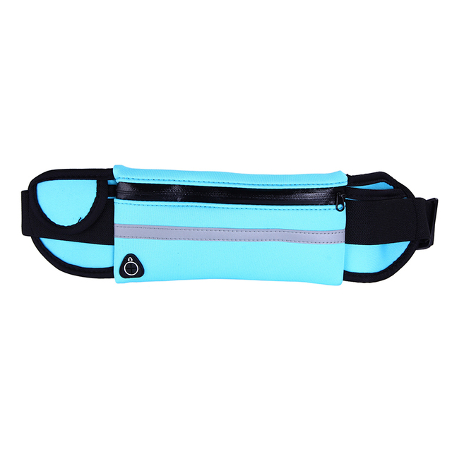 Hot Outdoor Running Waist Bags Men Women waist Packs Bags Unisex Sport Nylon Waistband for accessory men Small Travel Belt Bag 2