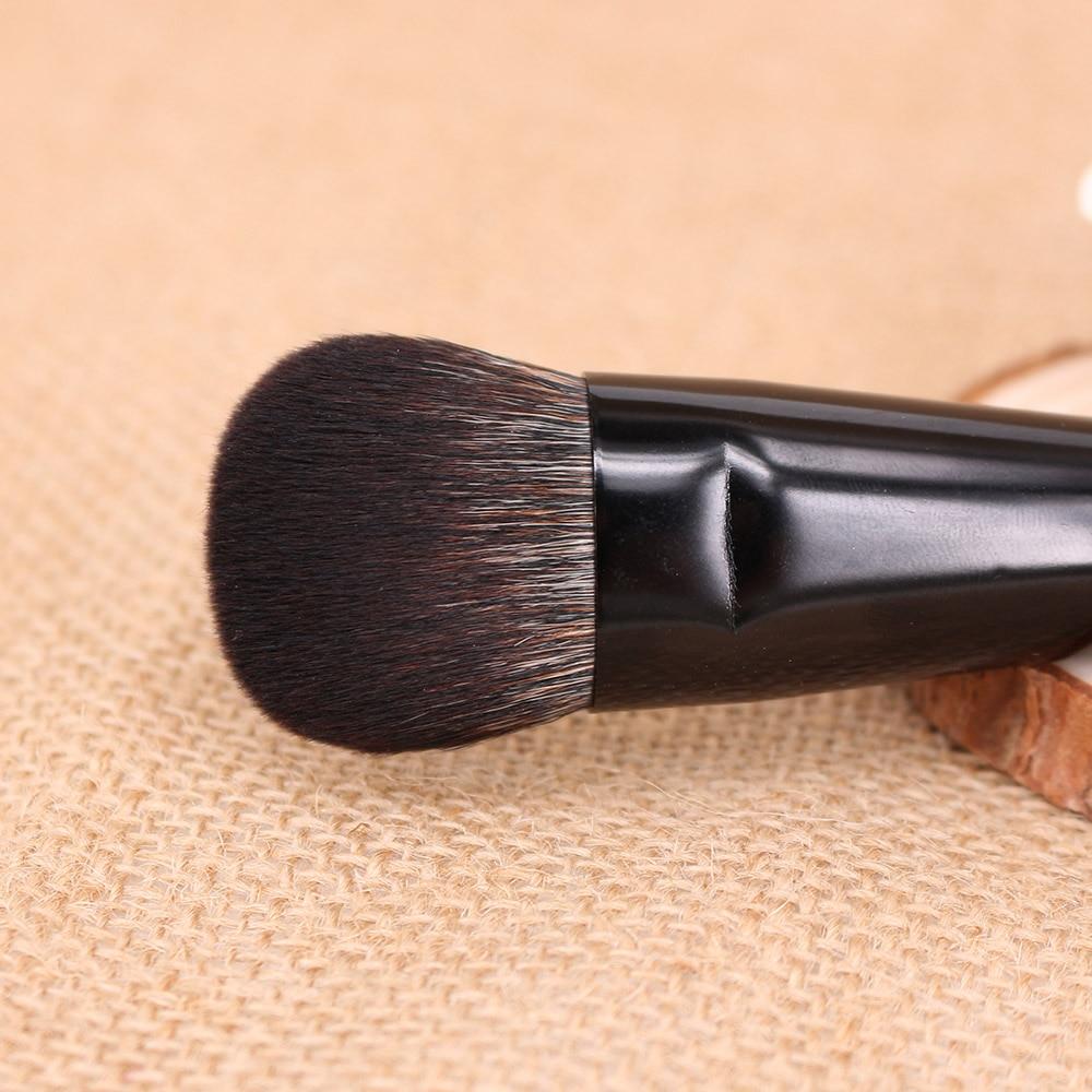 vela.yue Cheek Finish Brush Face Blush Highlighter Contour Blending - Smink - Foto 4