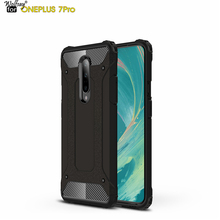 Wolfsay For Case Oneplus 7 Pro Cover Durable Armor TPU & PC for One Plus Business Phone Fundas