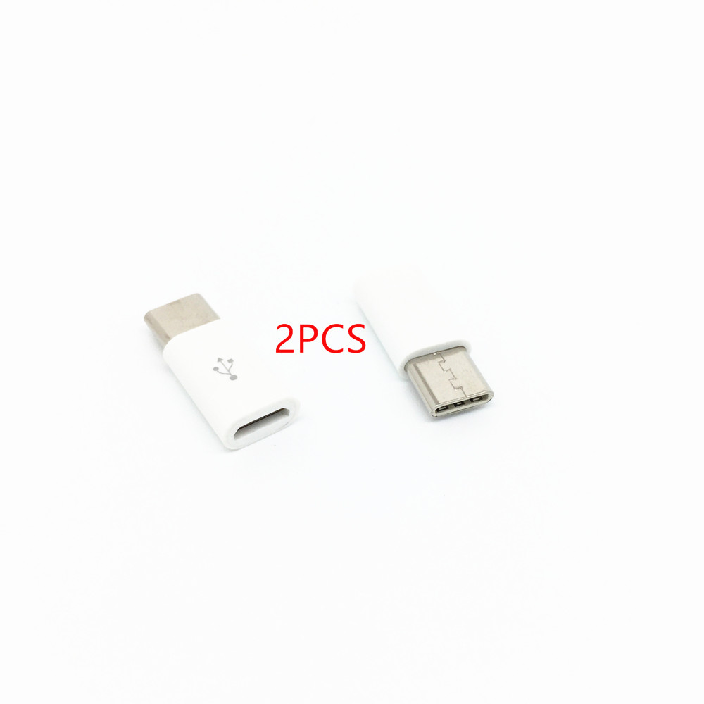 Free Delivery 2psc Micro Usb To Usb3.1 Type C Type-c for Xiaomi Mi6 6x MI5 5S 5S PLUS 5x 5c 4S 4C,REDMI PRO