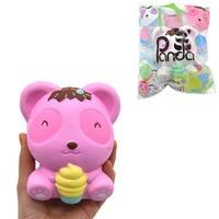 Newest Kawaii Panda Bear Squishies Slow Rising Unicorns Toys Phone Straps Anti Stress Collection Gift Toy