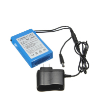 DC 12400 Battery 100% Original High Quality Rechargeable Protable Lithium-ion 12V 4000mAh With Charger