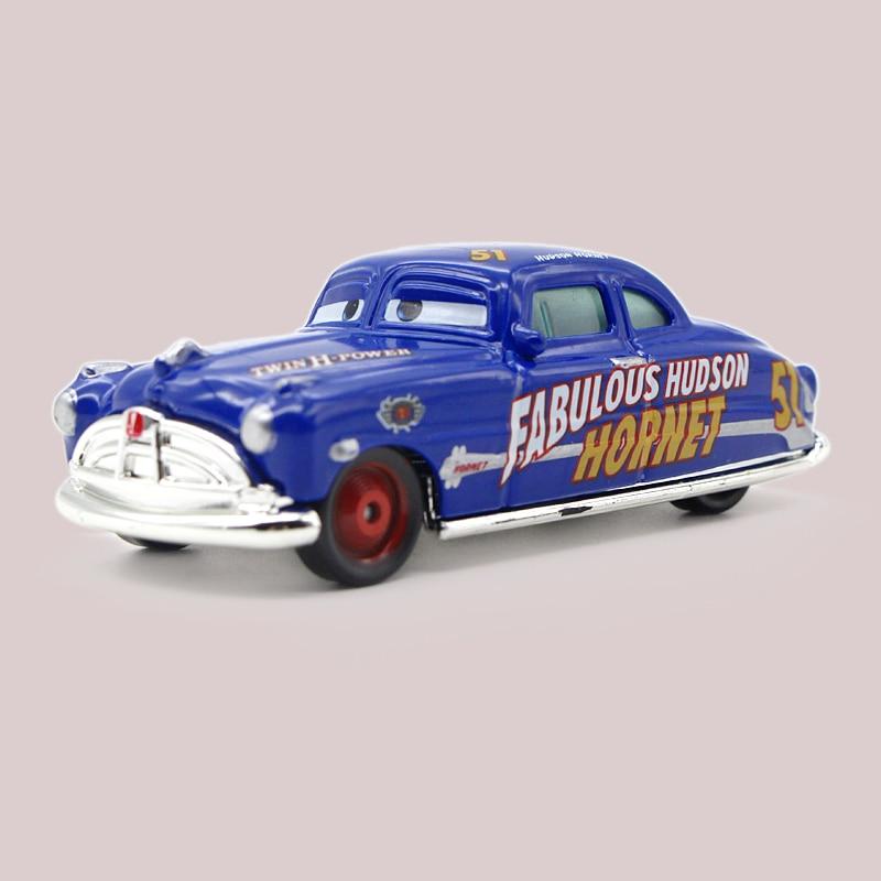 Us 6 61 5 Off Disney Cartoon Pixar Cars 2 Doc Hudson Diecast Metal Toy Car 1 55 Loose Brand New Alloy Car Toy Lightning Mcqueen In Diecasts Toy