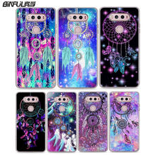 BiNFUL Butterfly Dreamcatcher Printed hard clear phone Case cover for LG G6  G5 G4 G3 V10 792ba00d28b8