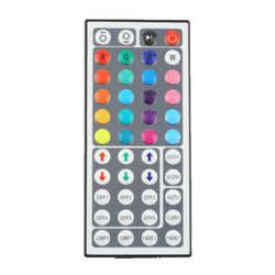 44 Ключи светодио дный ИК Панели управления rgb для RGB SMD 3528 5050 Светодиодные ленты светодиодный контроллер ИК-пульт дистанционного диммер Вход