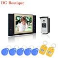 (1 set) Home Intercom system 8inch one to one Doorphone Video intercom Doorbell talkback system Door access RFID card unlock