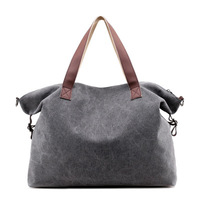 Women's Canvas Bag Multi pocket bag Shoulder bags Tote Bags Cotton Totes Purses for Shopping,Travel,Work,Daily Use