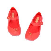 2019 Summer New Ballet Kids Shoes Fashion Bow Girl Sandals Jelly Princess Childrens