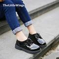 2016 nova primavera meninos sapatos mocassins de couro macio pu chaussure sapatas da escola das crianças Liang Pi versão Coreana dos Britânicos estilo