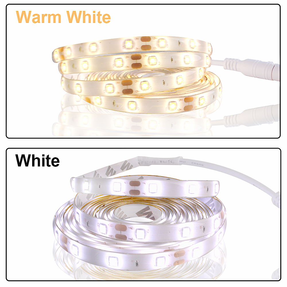 5M LED light Strip Waterproof 2835 Ribbon LED Strip Dimmable Touch Sensor Switch 12V Power Supply For Under Cabinet Kitchen Lamp (9)