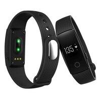 Akıllı İzle kimliği 107 Braclet 0.49 OLED nabız anti kayıp pedometre bluetooth bilezik smartwatch Android iOS için