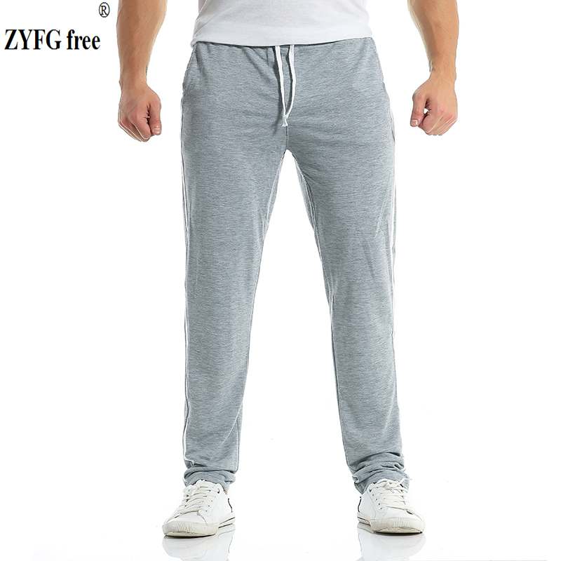 Men Casual pants Sweatpants Cotton 2018 New Summer autumn Free Style Men's striped Leisure Foot Trousers Multicolor Asia size