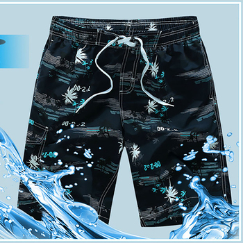 2019 Swimwear Men Swimsuit Summer Swimming Trunks Print Boxer Shorts Mens Swimwwear Board Beach Wear Bathing Suit Plus Size 6XL 1